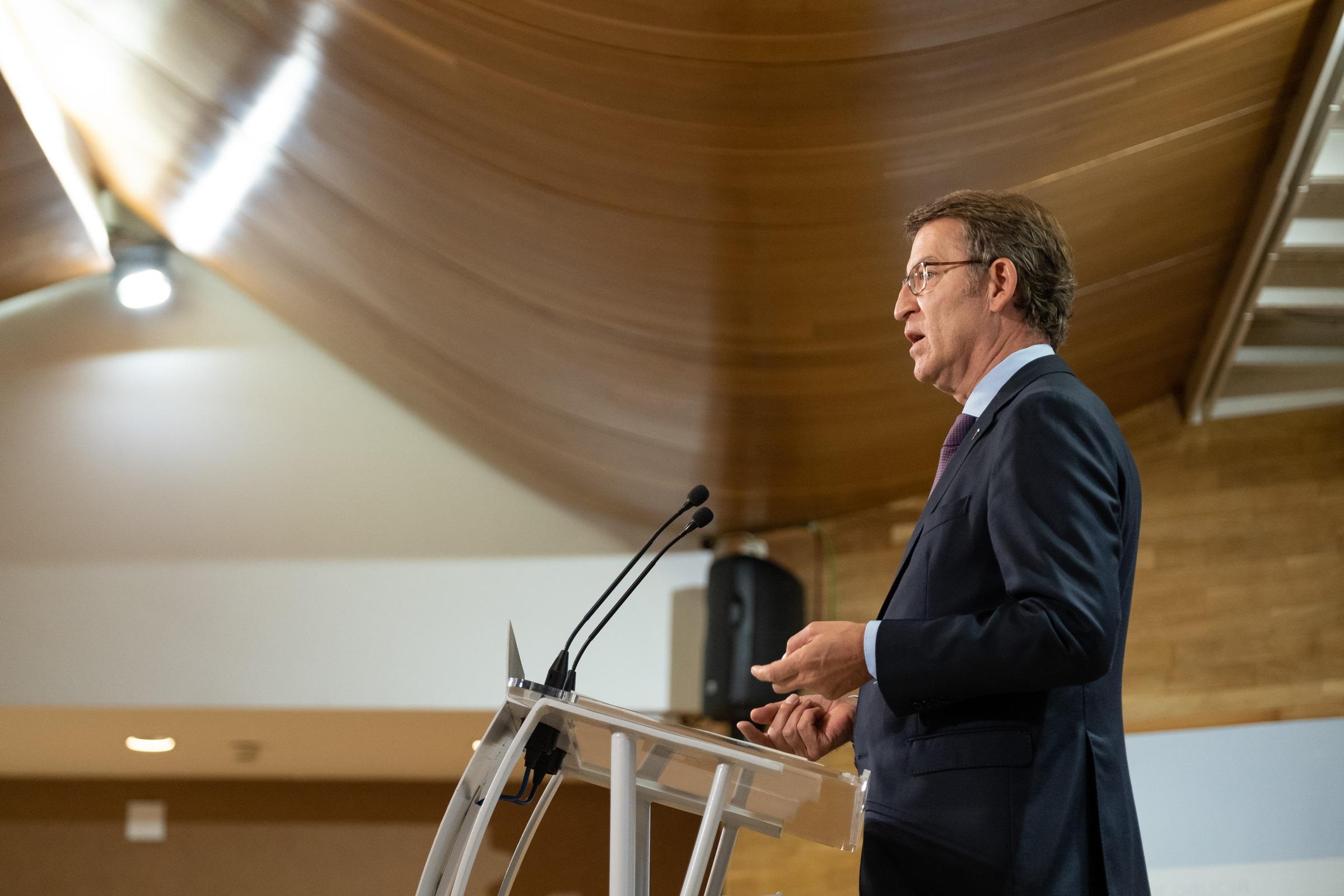 El president de la Xunta, Alberto Núñez Feijóo / Europa Press