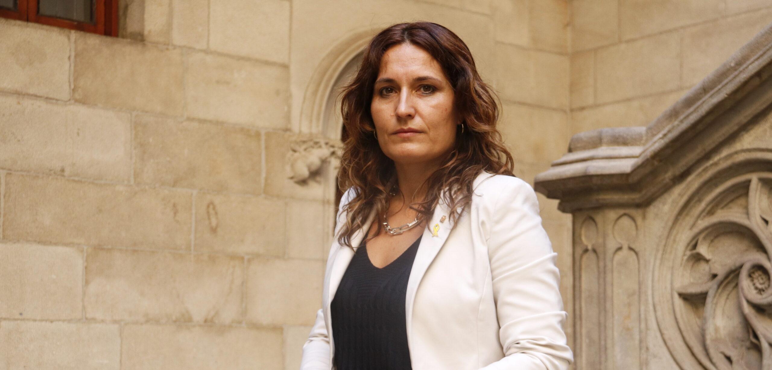 La consellera de Presidència, Laura Vilagrà, el 27 de juliol de 2021 / ACN