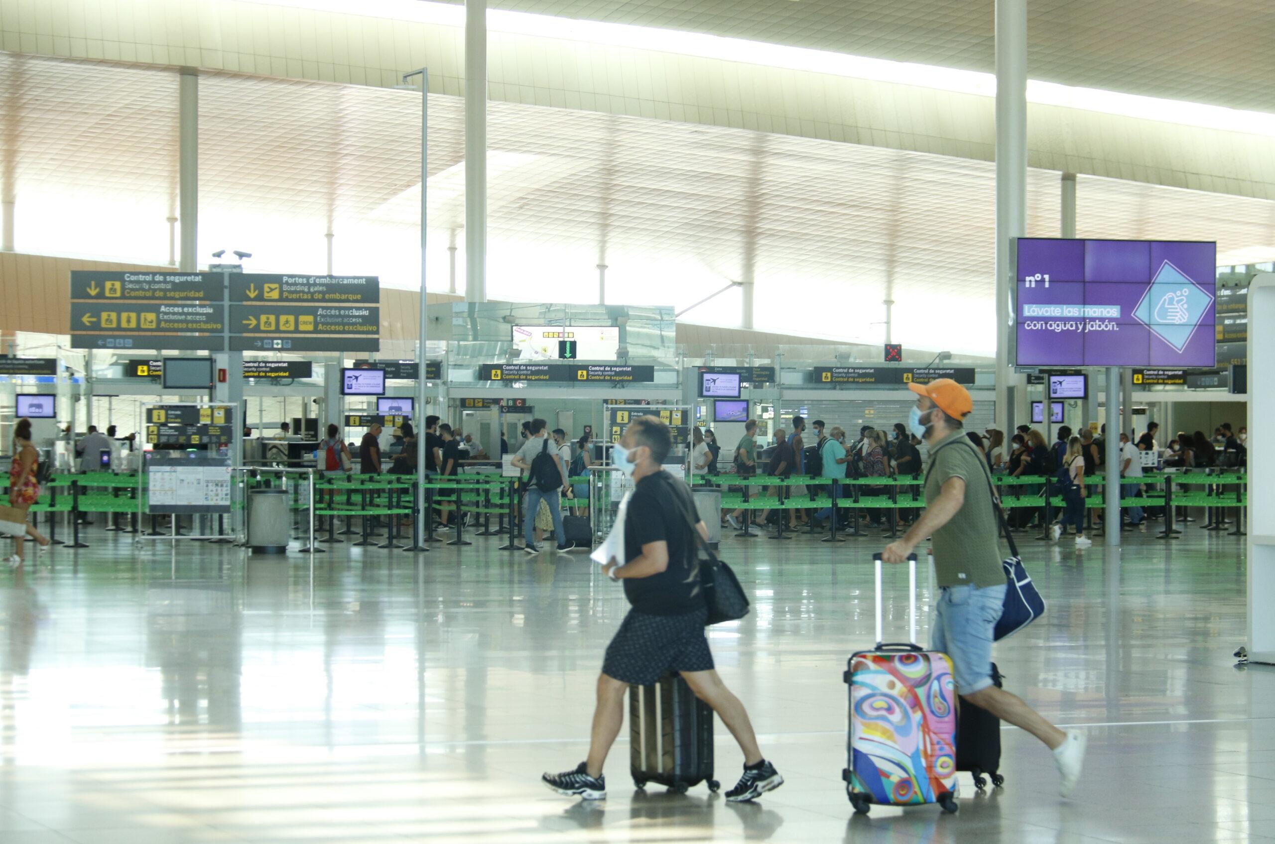 La Terminal 1 de l'aeroport de Barcelona-El Prat | ACN