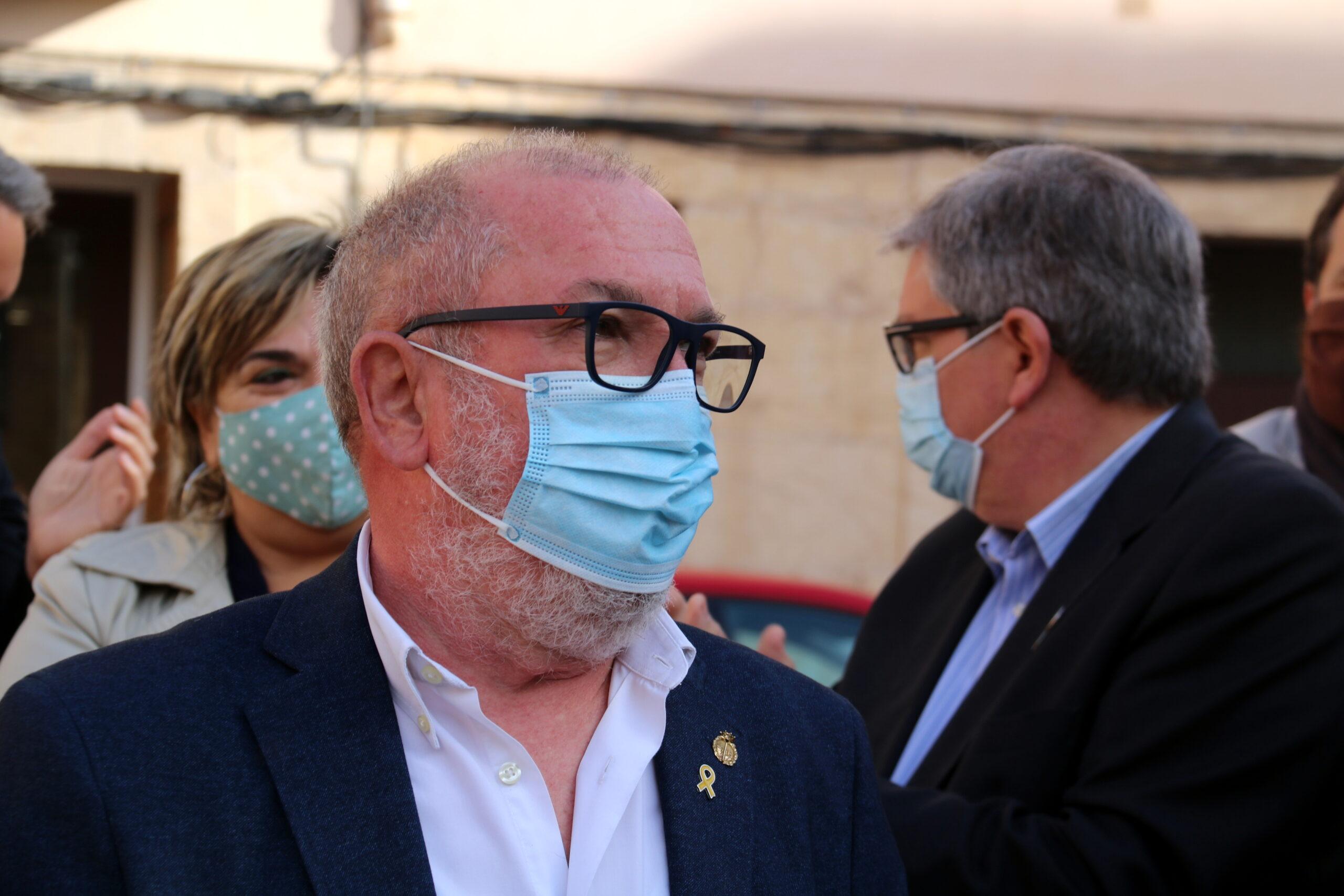L'alcalde de Roquetes, Paco Gas (ACN)