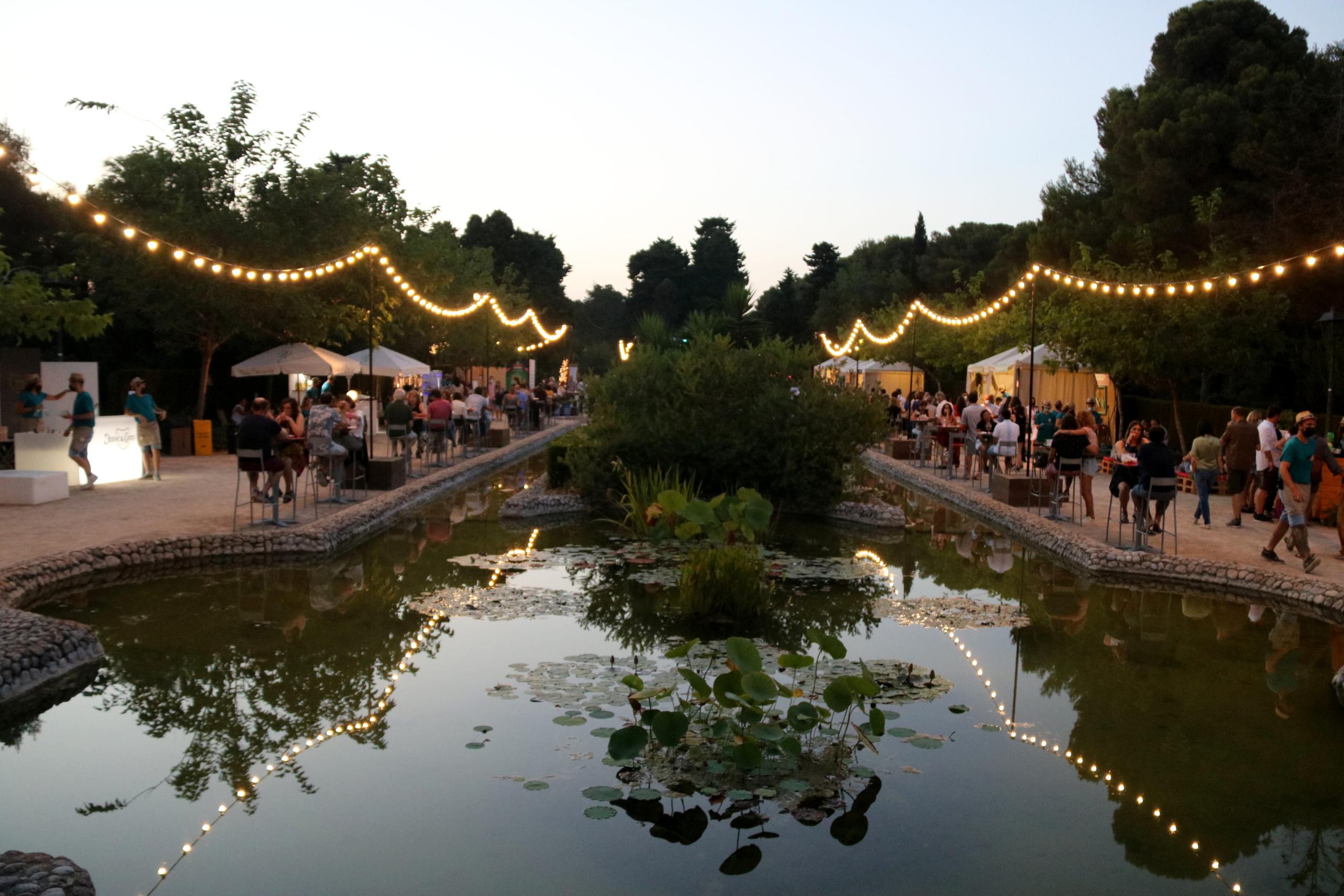 El Village del Festival Jardins de Terramar   ACN