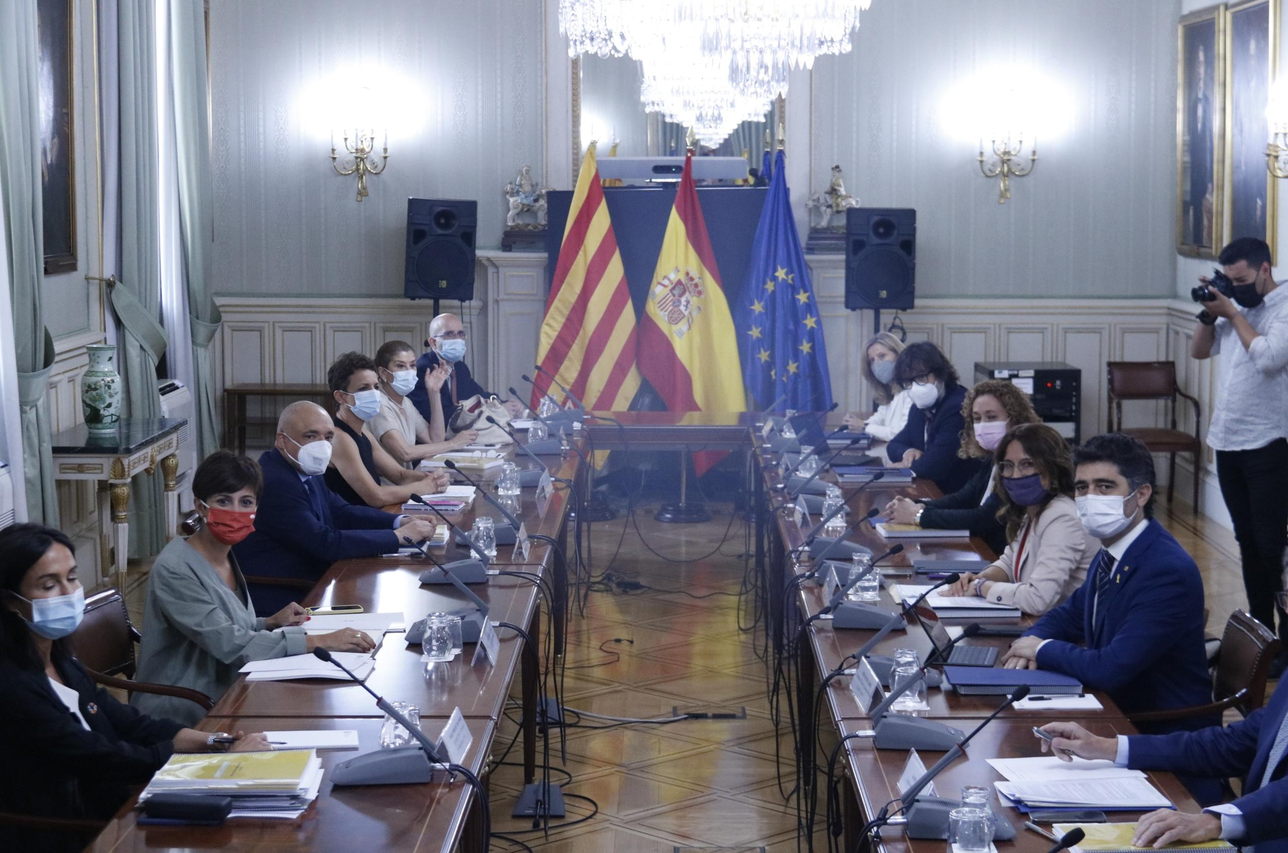 La reunió de la Comissió Bilateral Estat-Generalitat / ACN