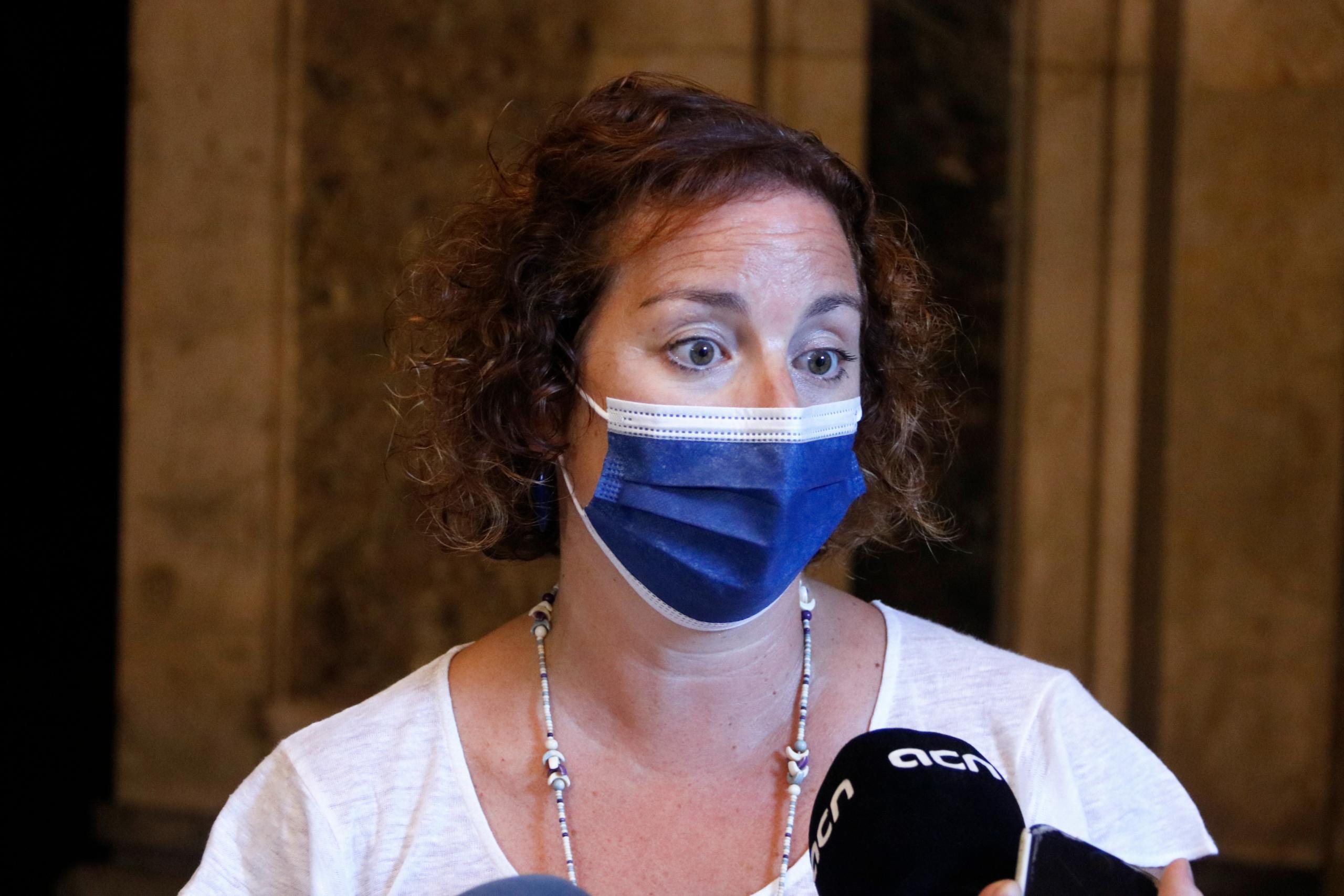 La portaveu del PSC-Units al Parlament, Alícia Romero / ACN
