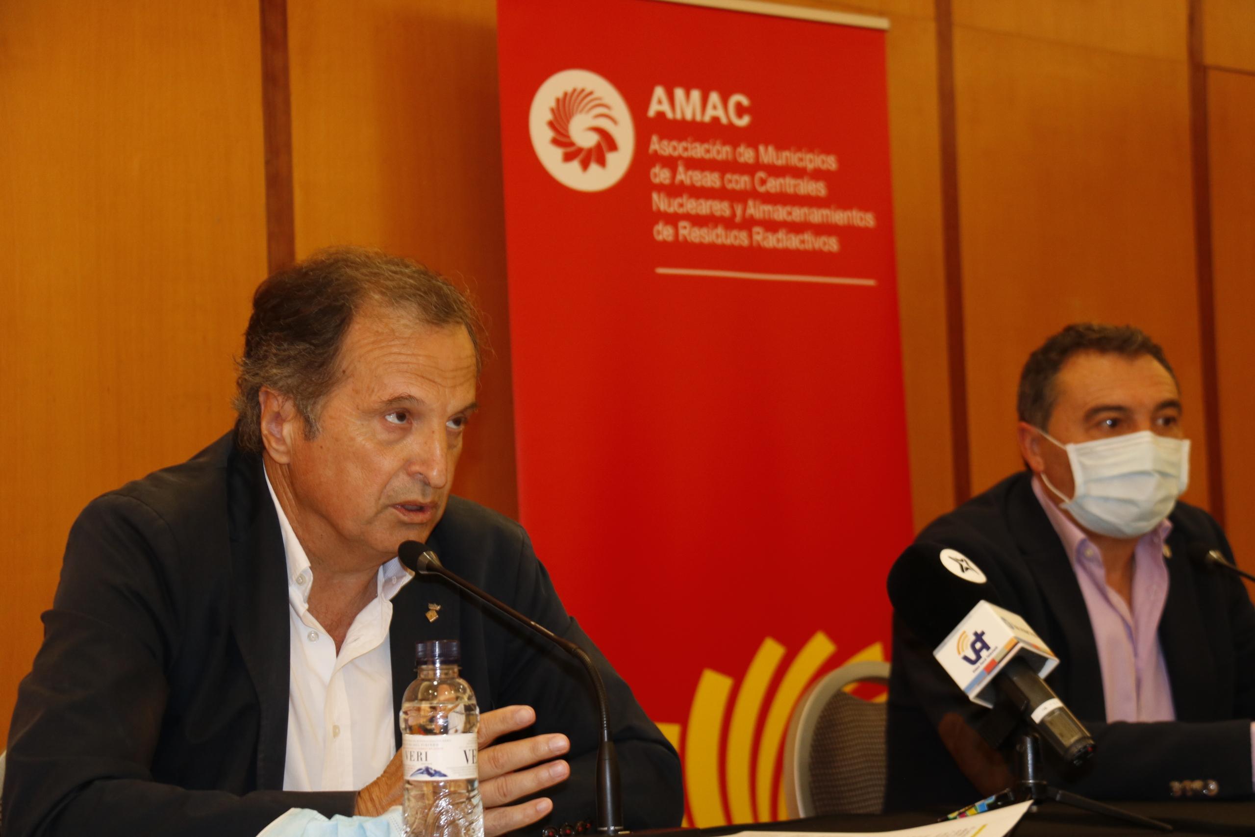 El vicepresident d'AMAC i alcalde de Vandellòs i l'Hospitalet de l'Infant, Alfons Garcia / ACN