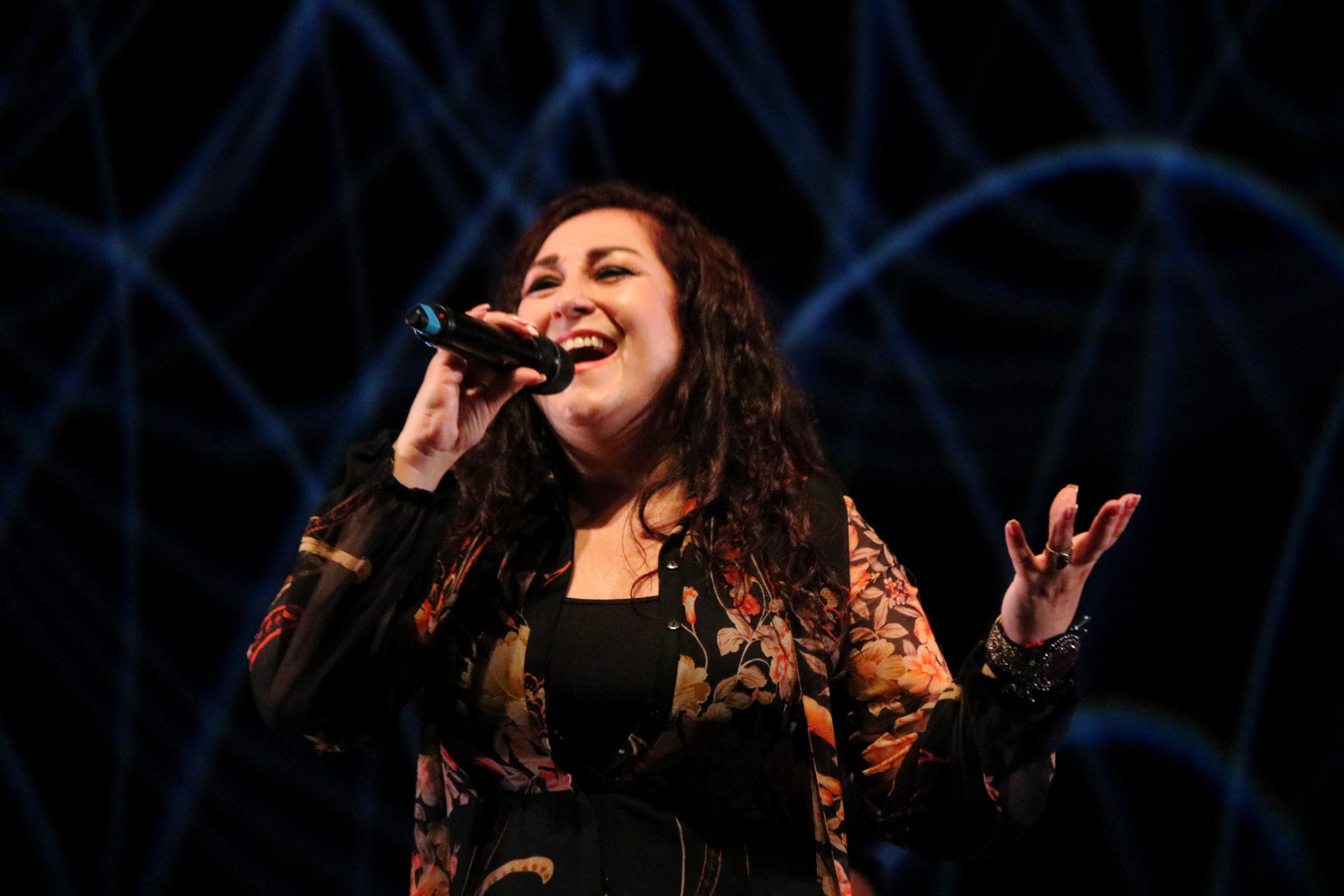 Maria Angeles Muñoz Dueñas, integrant de Camela, al Festival Internacional de Música de Cambrils   ACN