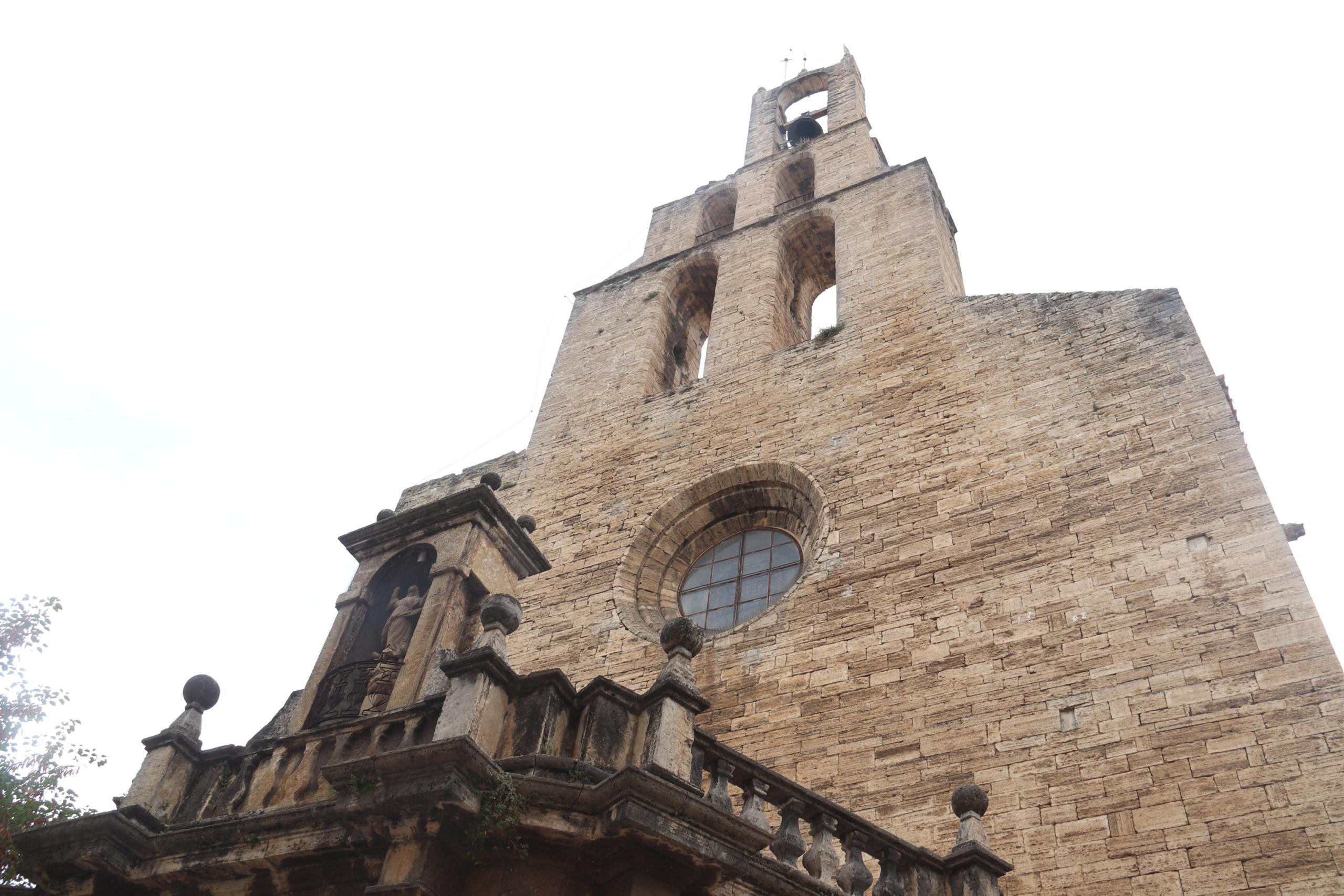 El campanar de l'esglèsia de Santa Maria dels Turers de Banyoles / ACN