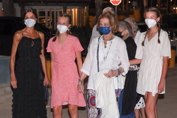 Les dones de la família reial a Mallorca - Europa Press