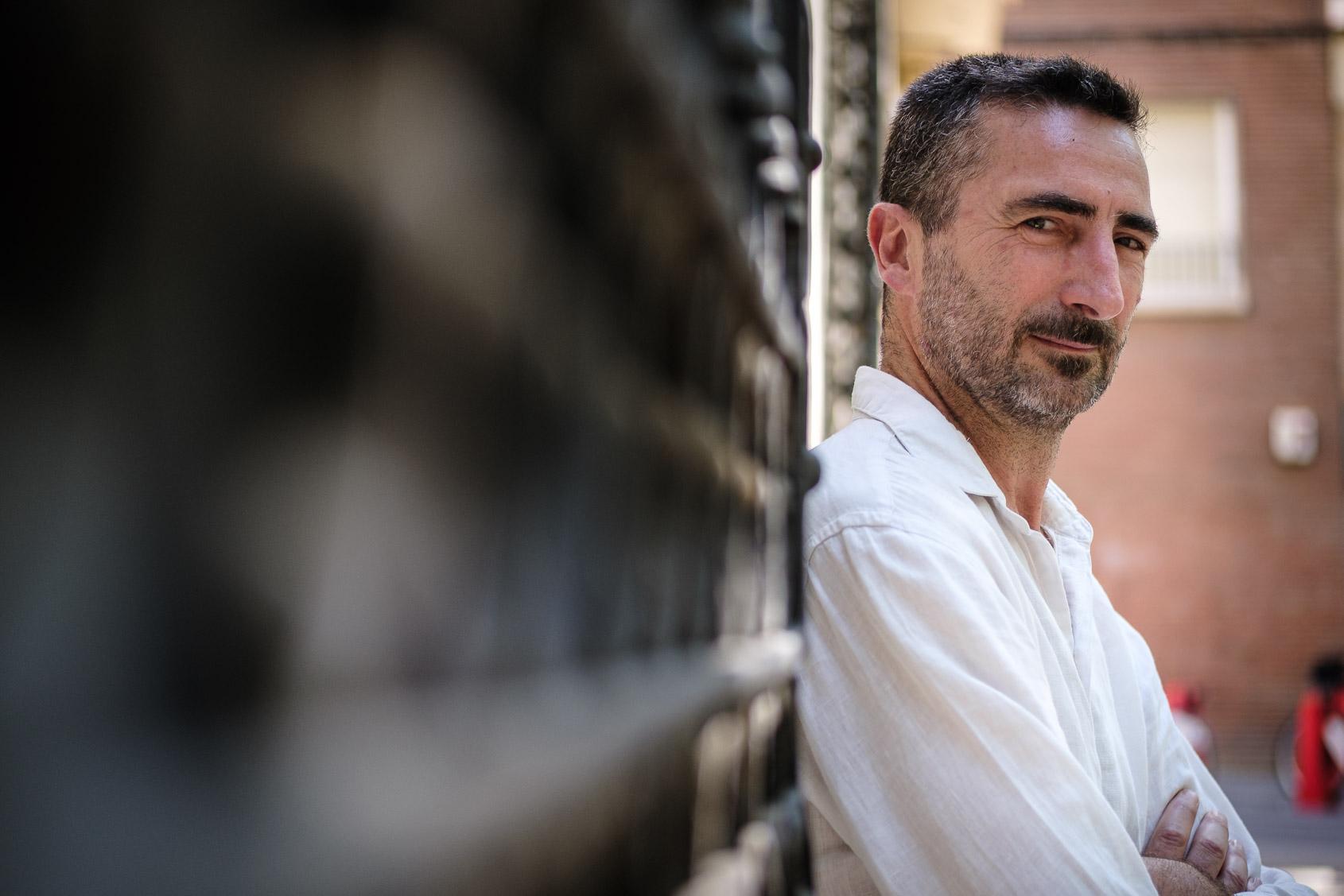 El filòleg i traductor Pau Vidal, el dia de l'entrevista amb El Món / Jordi Borràs