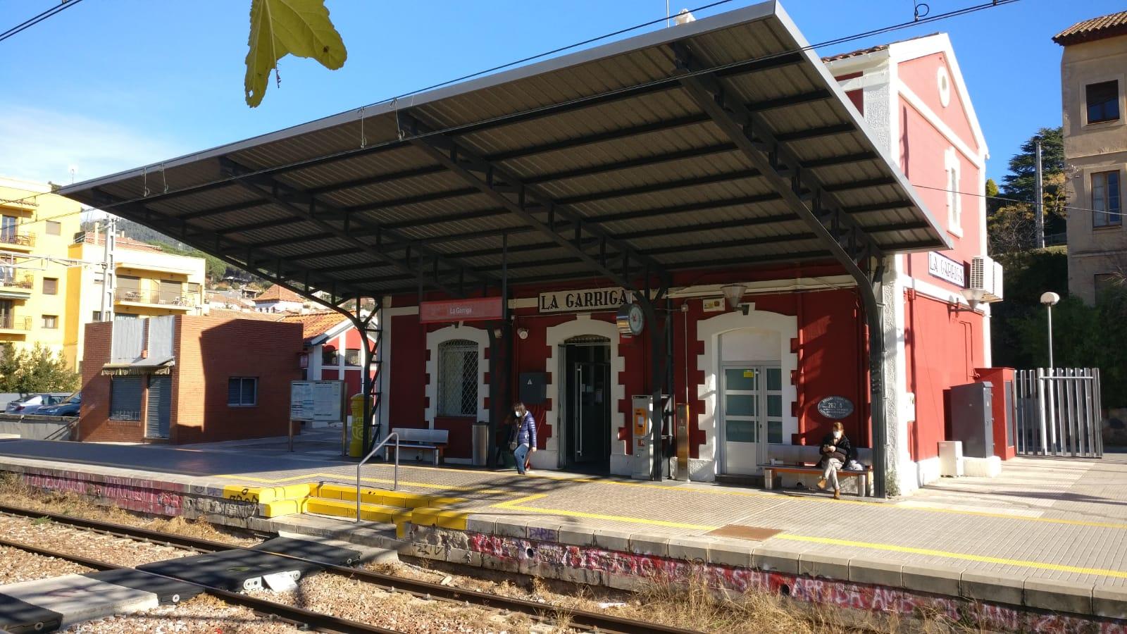 L'estació de la Garriga / ACN