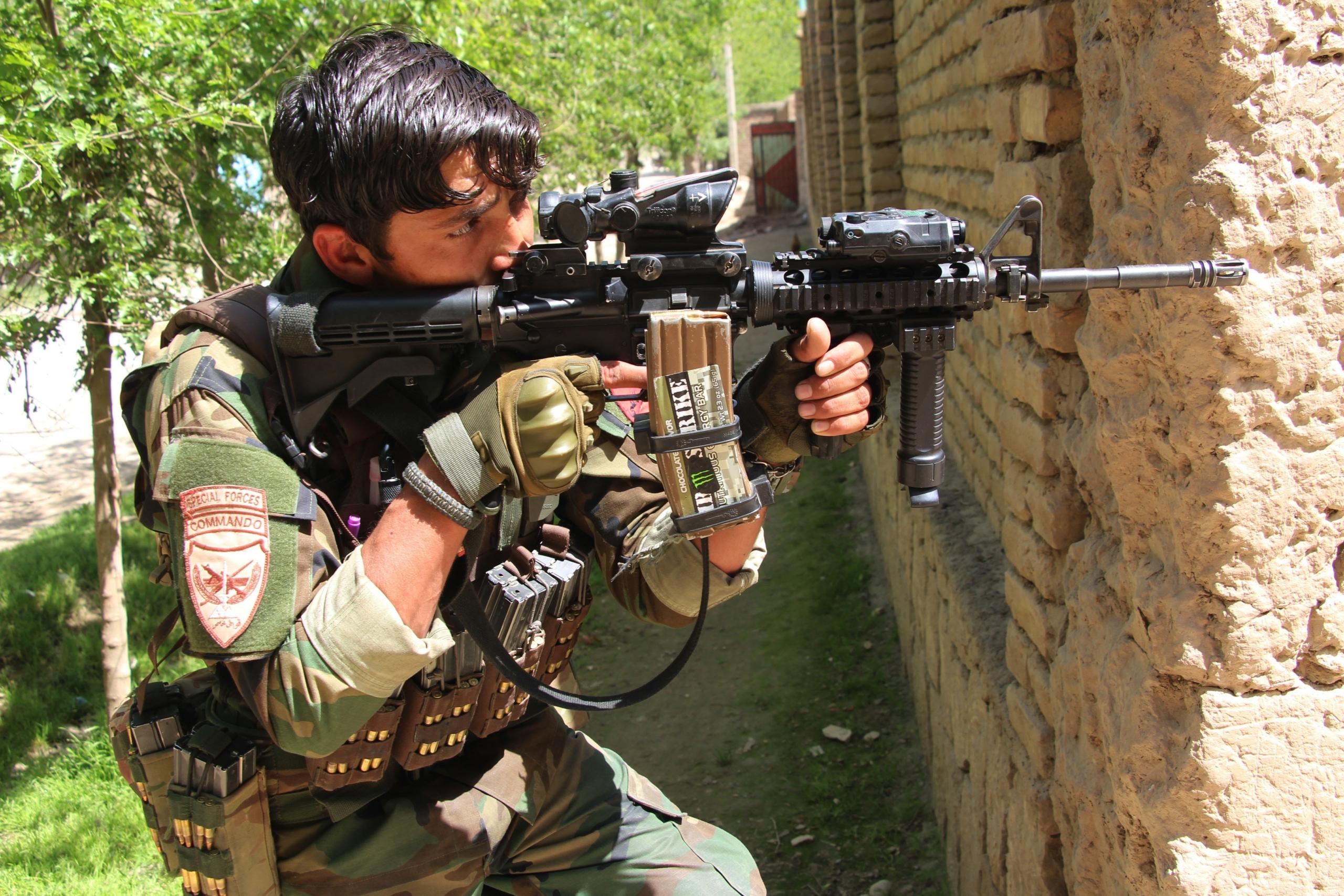 Un militar a Afganistan / EP