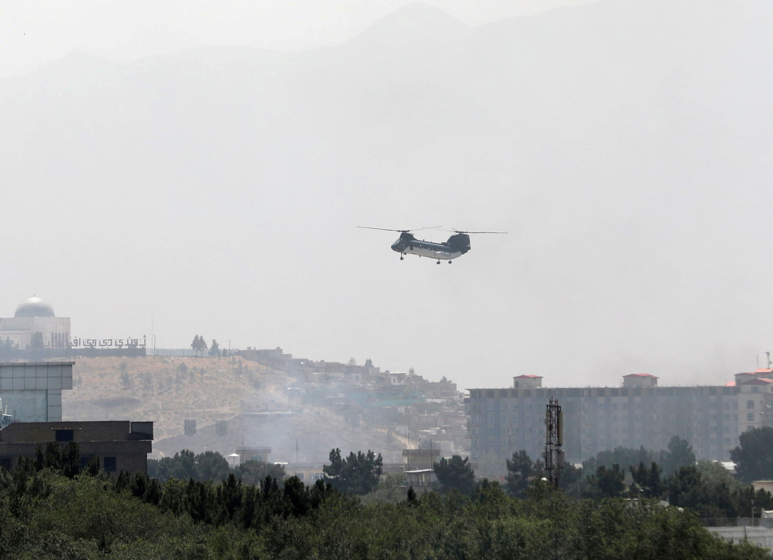 Un avió militar de repatriació sobrevola Kabul | ACN