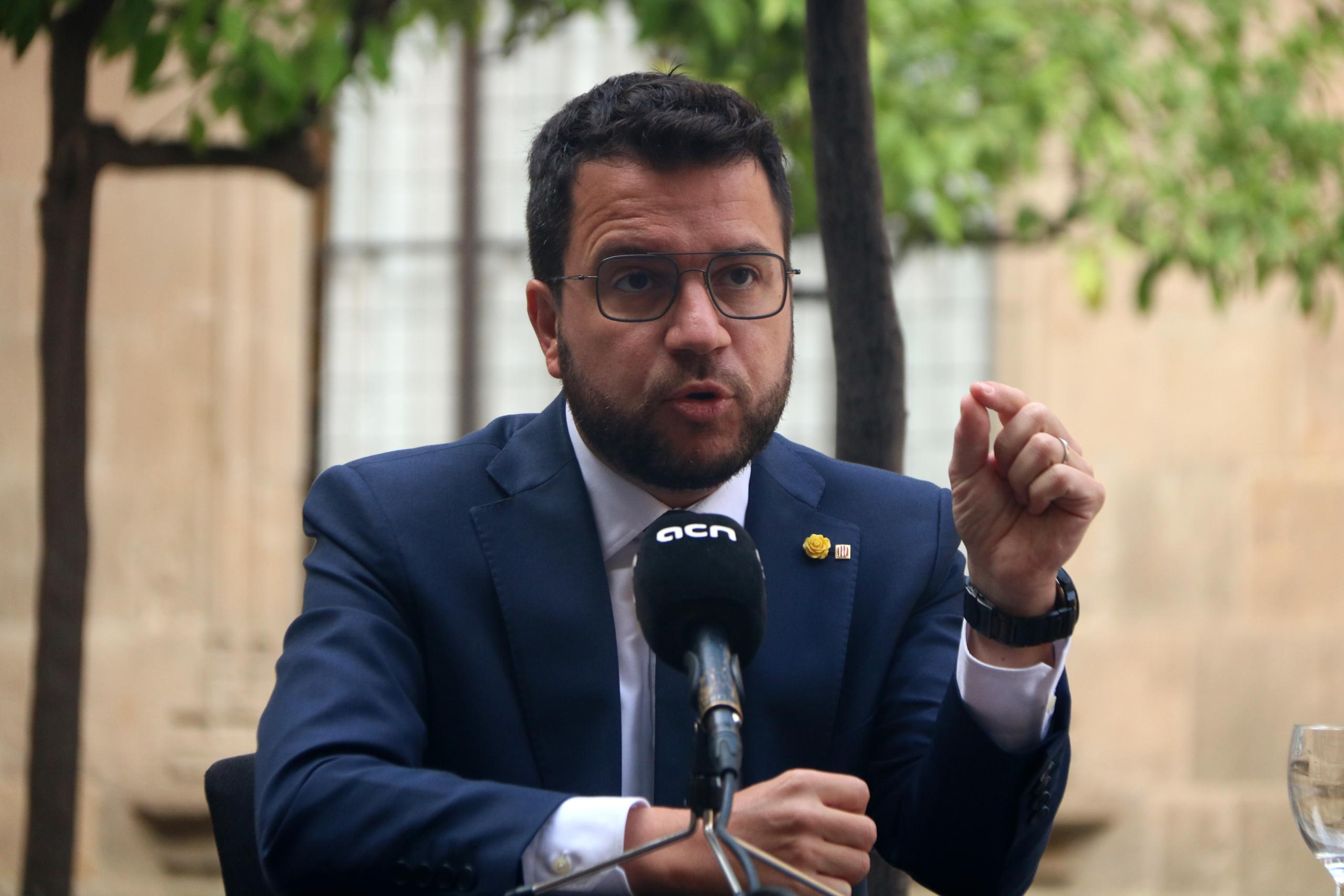 El president de la Generalitat, Pere Aragonès | ACN