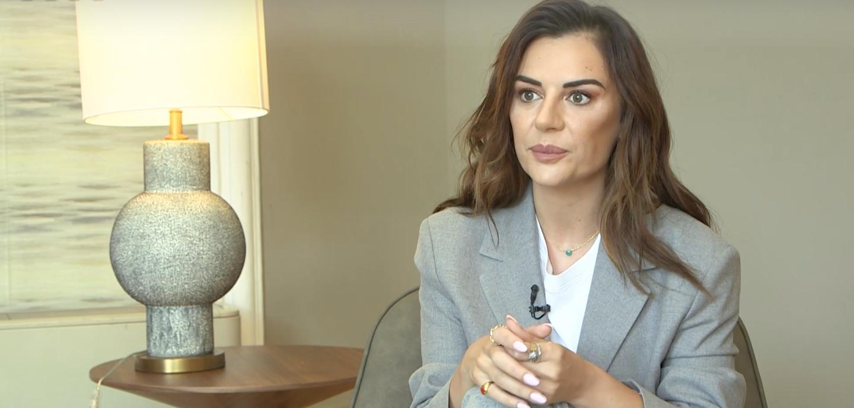 Miren Ibarguren, en una entrevista d'Elle