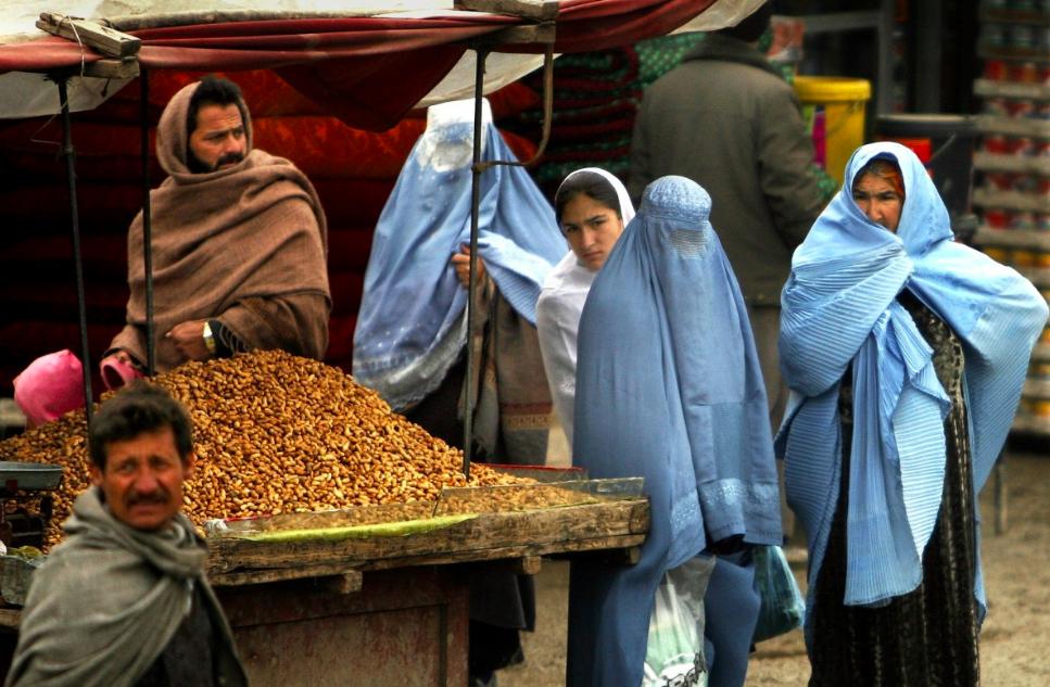 Dones en un mercat de l'Afganistan / PxHere