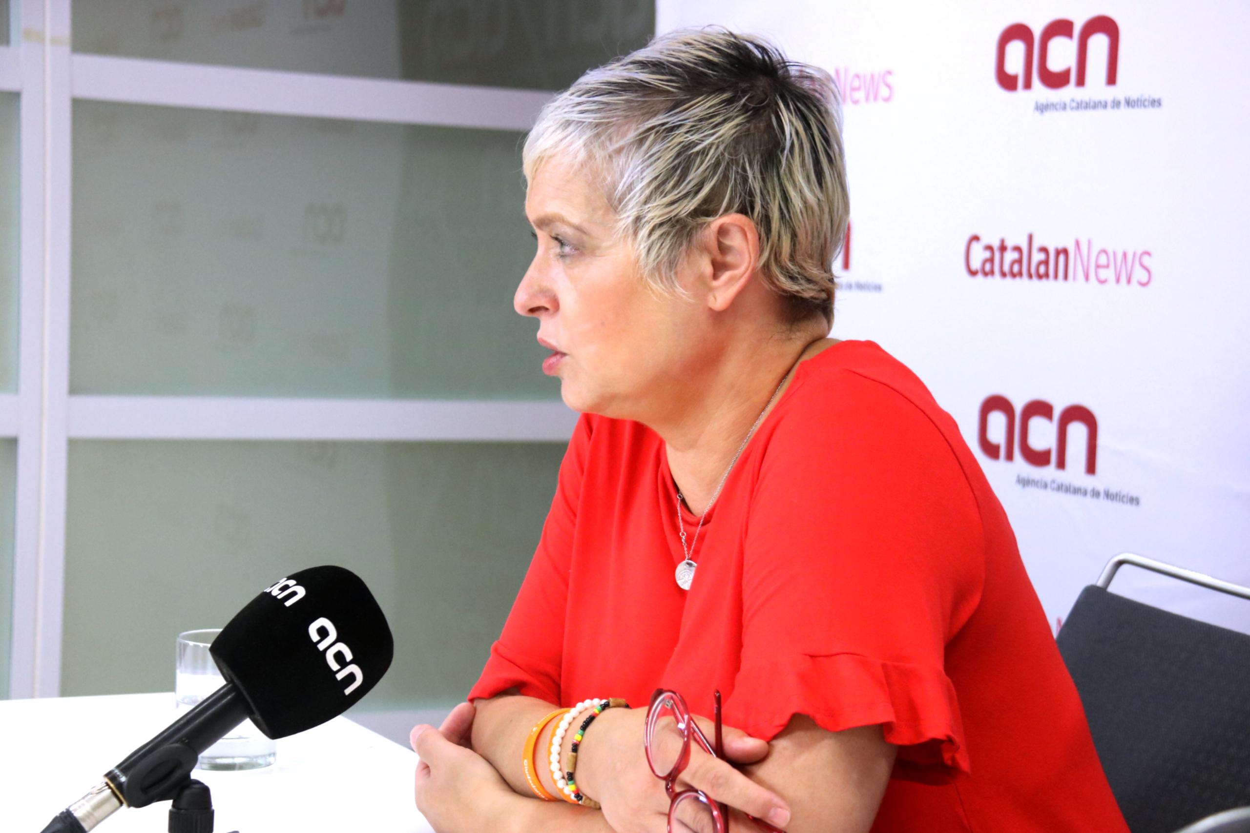 La portaveu adjunta de Cs al Parlament, Anna Grau | ACN