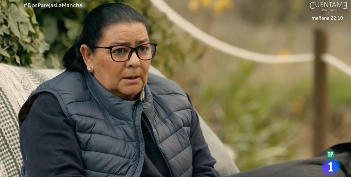 María del Monte, en una entrevista a TVE