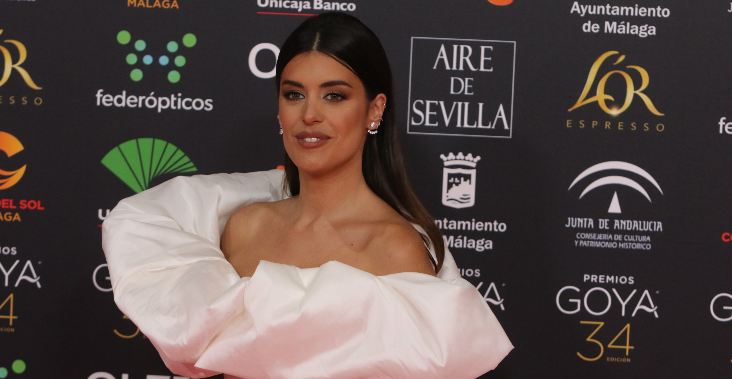 Dulceida, a la catifa vermella dels Goya - Europa Press