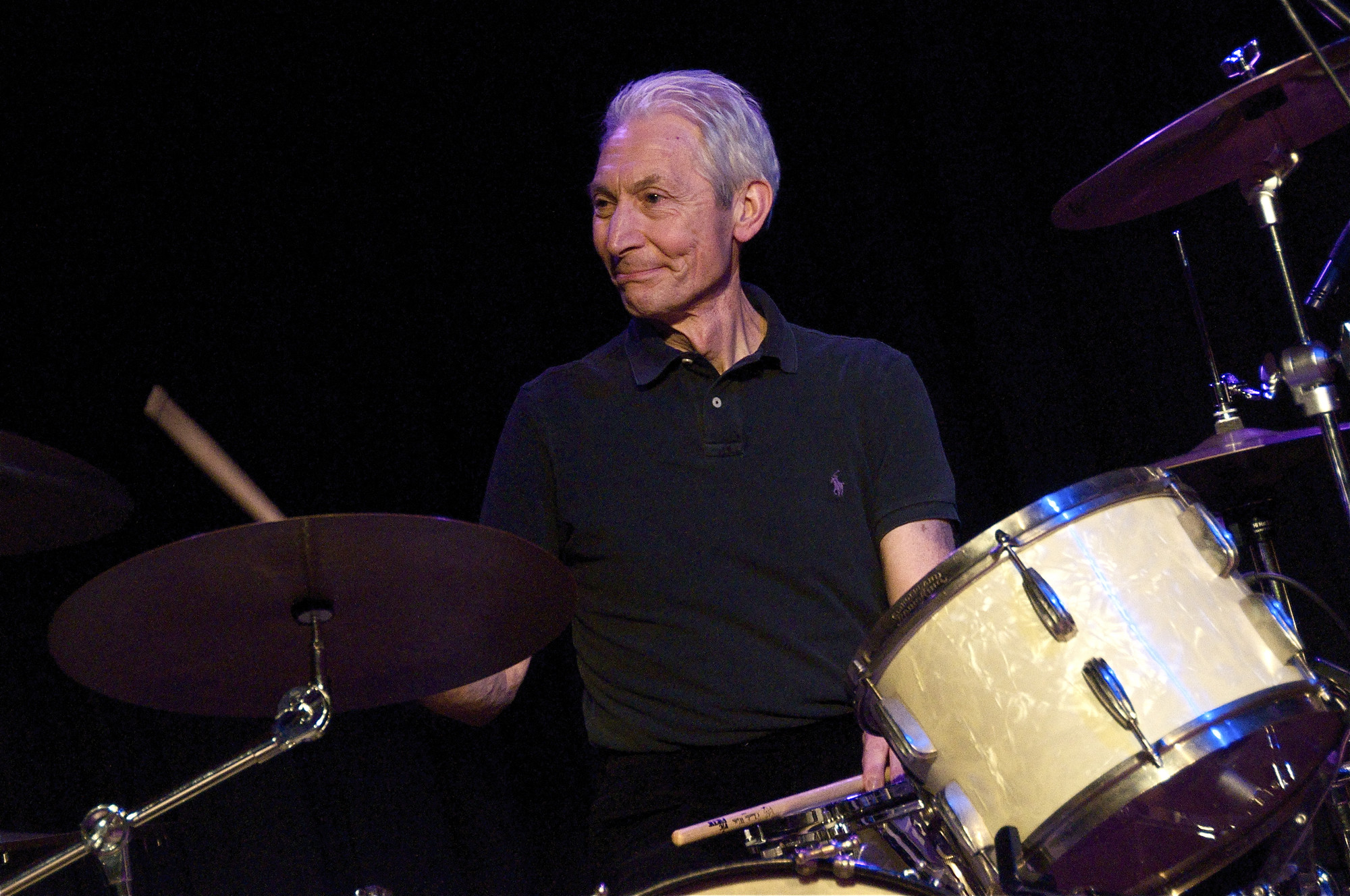 Charlie Watts, bateria dels Rolling Stone