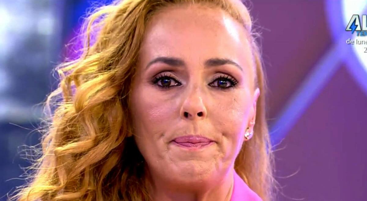 Rocío Carrasco plora a 'Sálvame' - Telecinco