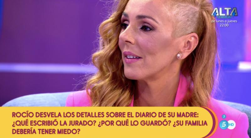 Rocío Carrasco, en la reaparició a 'Sálvame' després del documental / Telecinco
