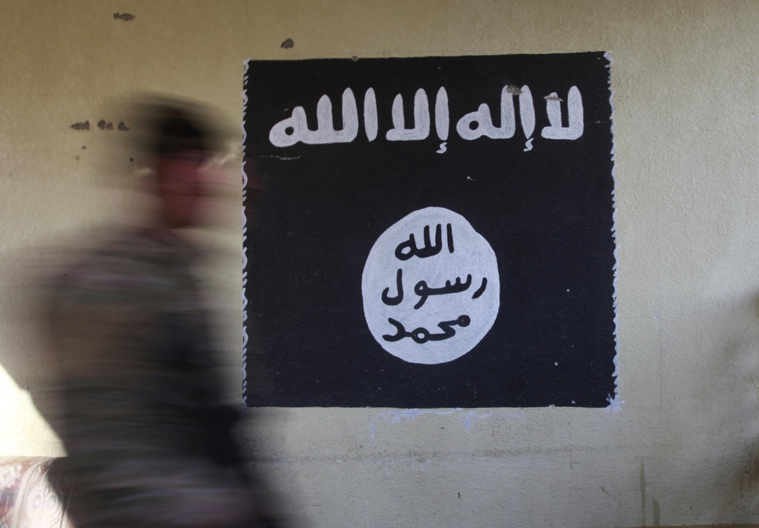Bandera d'Estat Islàmic / EP