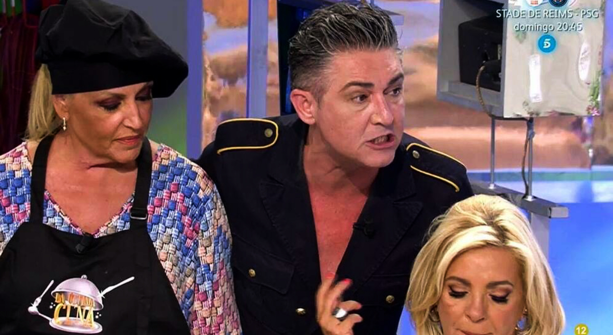 Ángel Garó esclata en directe - Telecnco