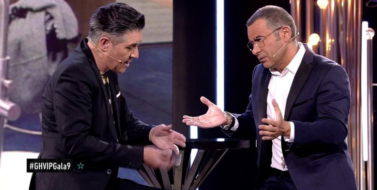 Ángel Garó i Jorge Javier a 'GH VIP' - Telecinco