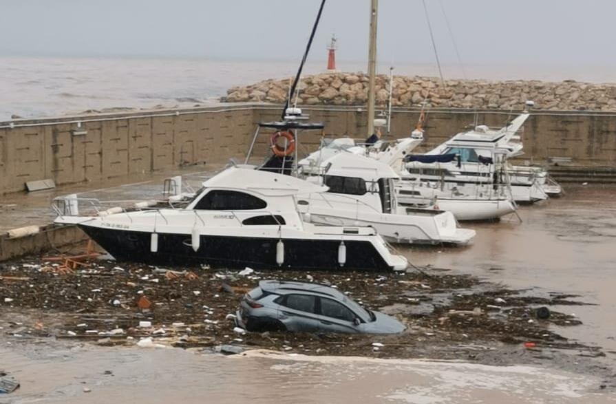 Les inundacions a Les Cases d'Alcanar / ACN
