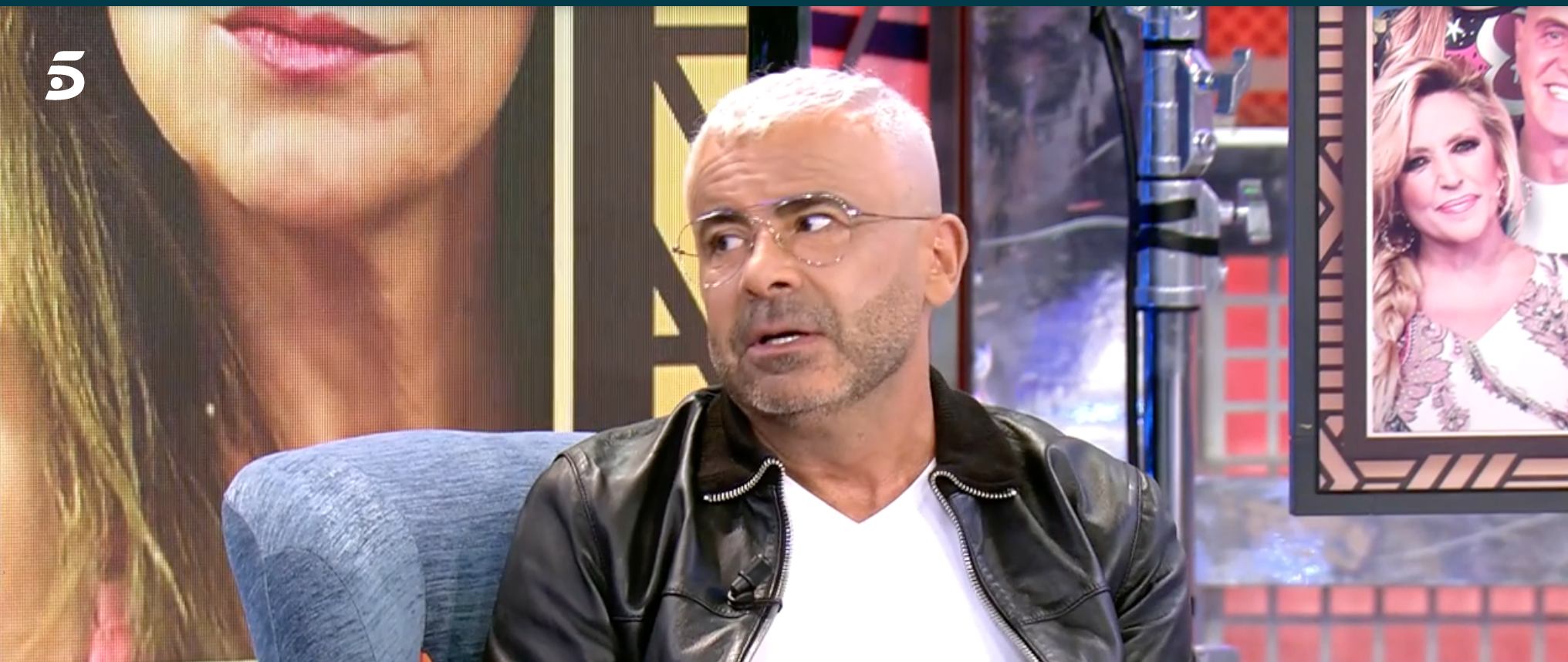 Jorge Javier durant l'entrevista al 'Deluxe' | Telecinco