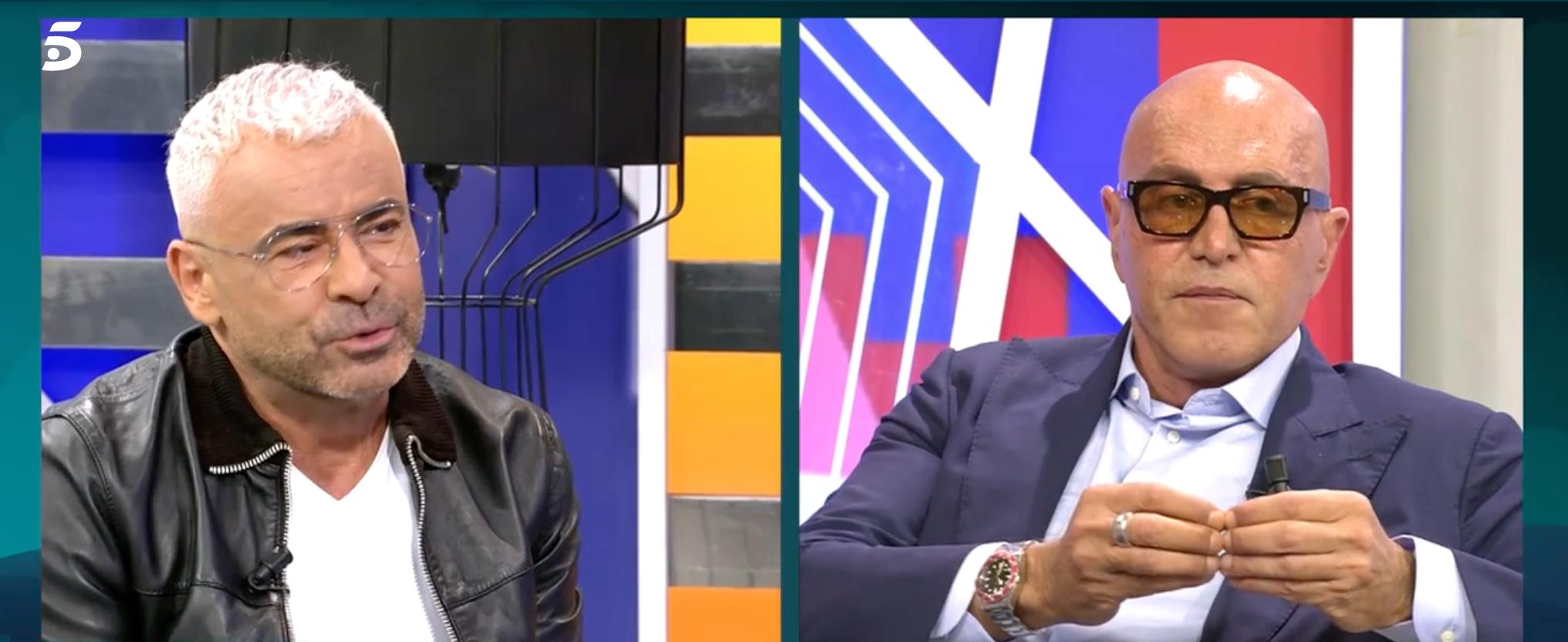Jorge Javier Vázquez i Kiko Matamoros   Telecinco