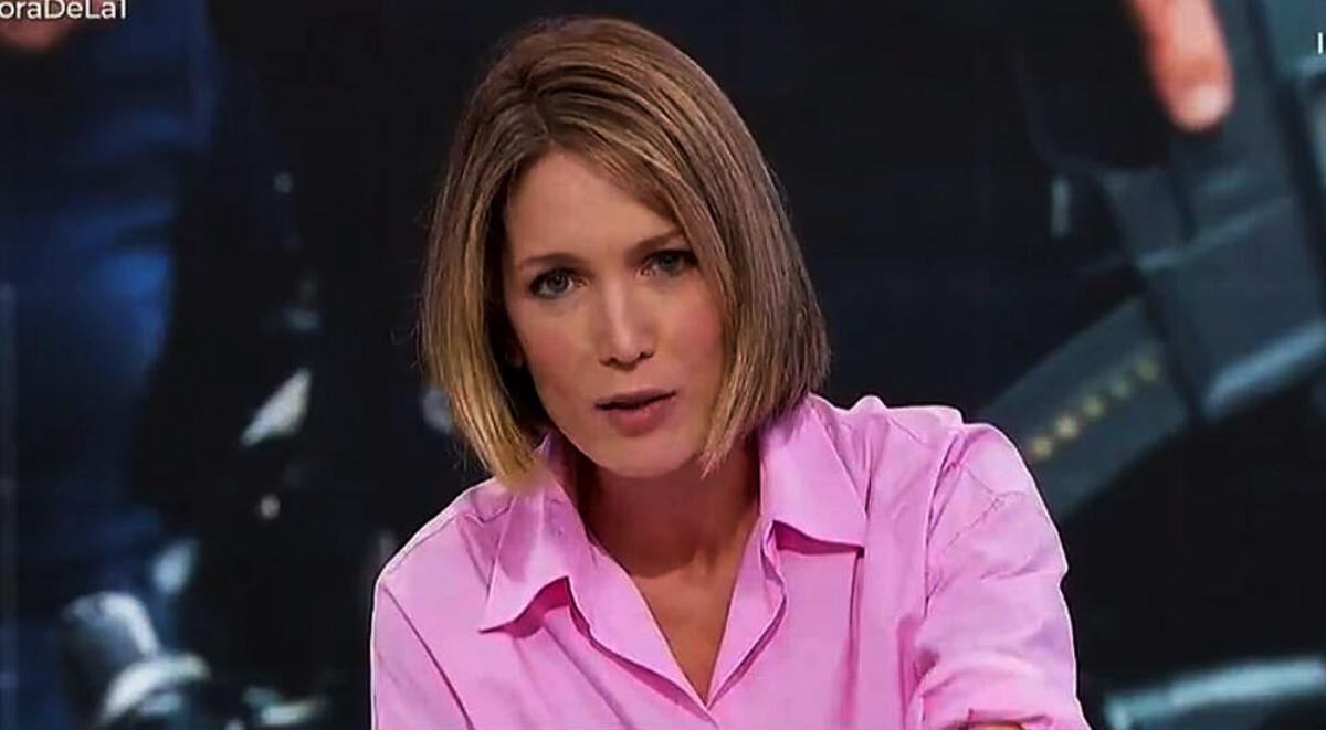 Una periodista, amenaçada en directe - TVE