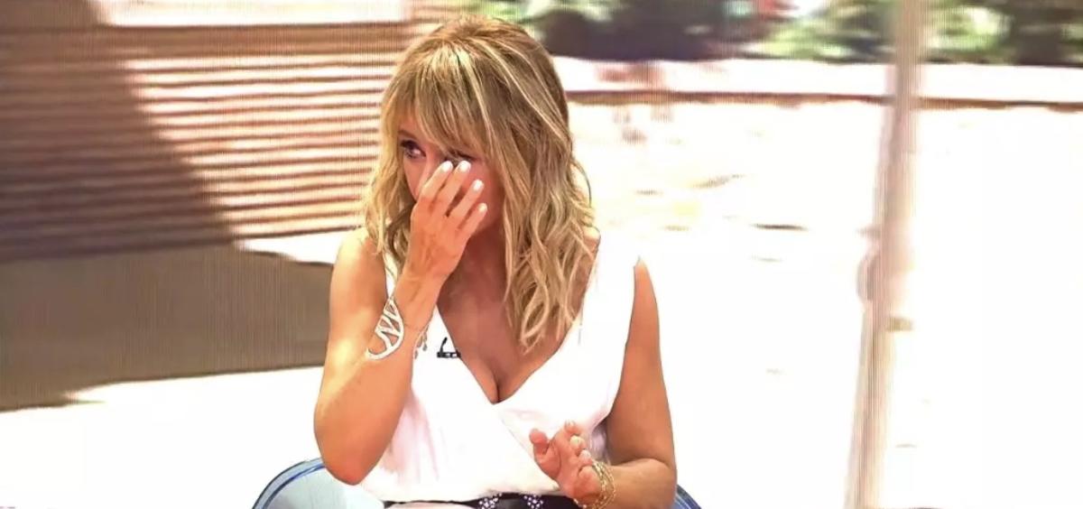 Emma García plora a 'Viva la vida' - Telecinco