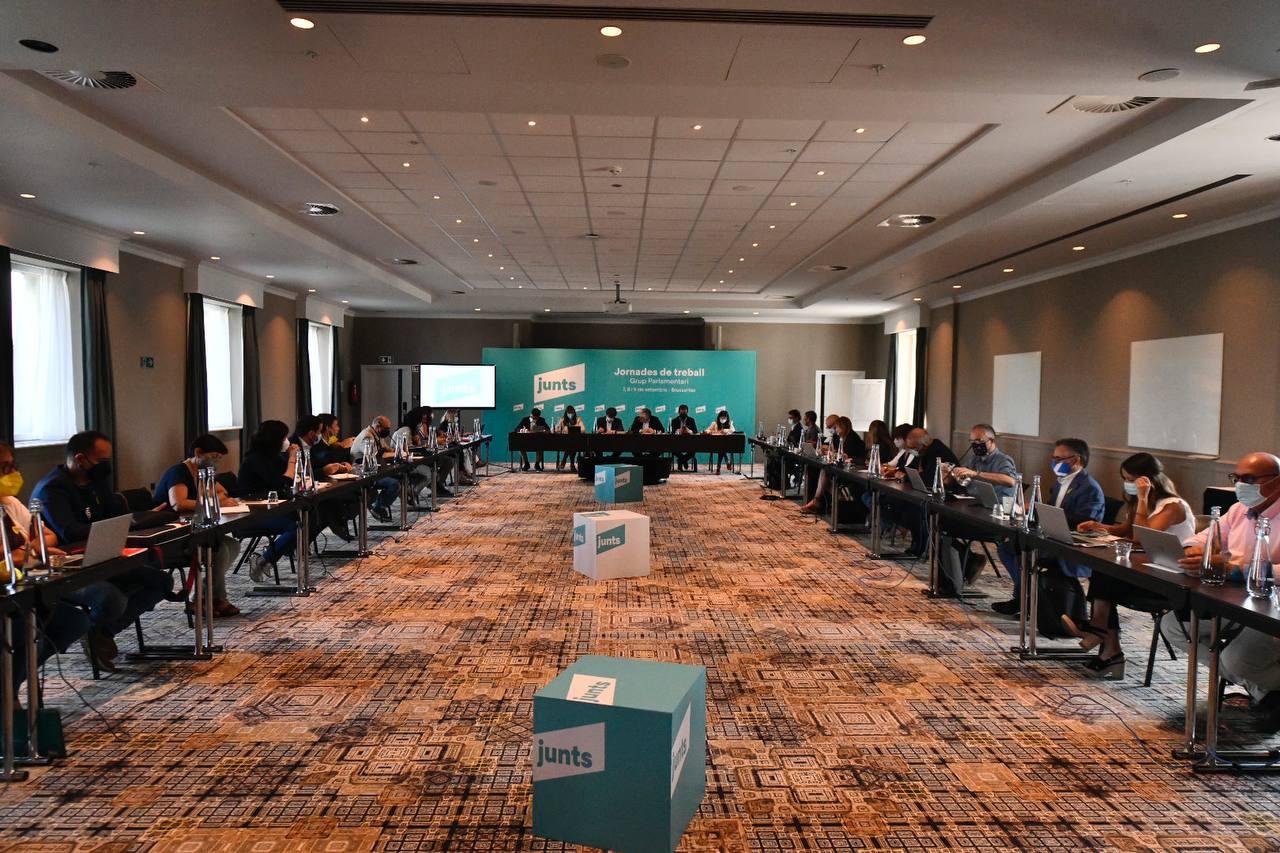 Reunió del grup parlamentari de JxCAT/JxCAT