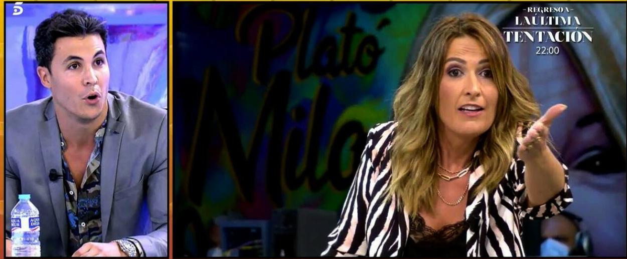 Kiko Jiménez s'enfronta a Laura Fa - Telecinco