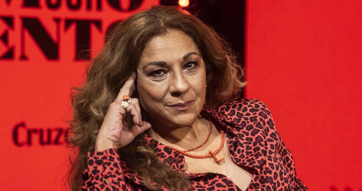 Lolita Flores, en una presentació - Europa Press
