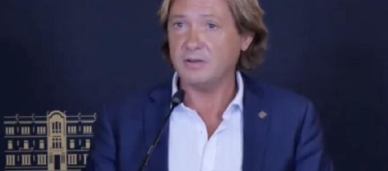 Jorge Campos, dirigent de Vox a les Illes
