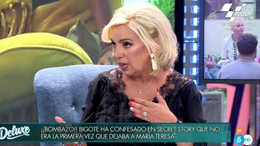 Carmen Borrego critica Edmundo Arrocet - Telecinco