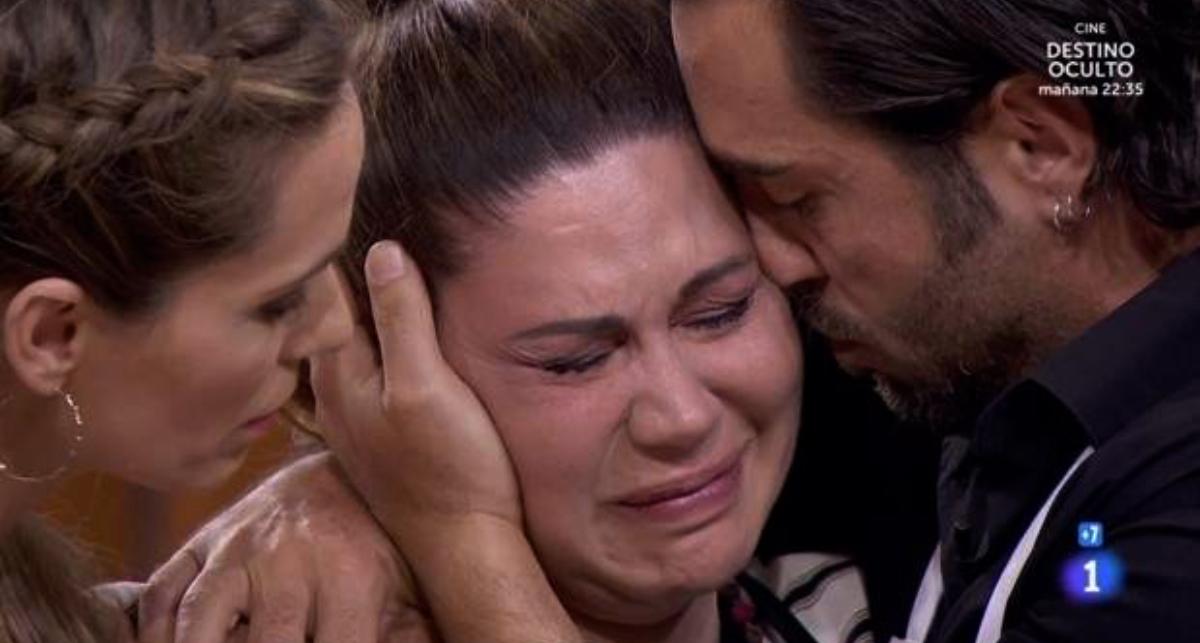Tamara plora a 'Masterchef' - TVE