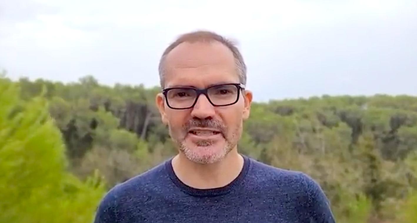 Josep Costa, ex vicepresident del Parlament, en el vídeo en què anuncia que no anirà a declarar al TSJC