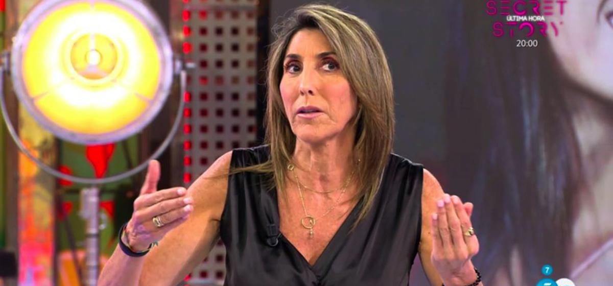 Paz Padilla la fa grossa en directe - Telecinco