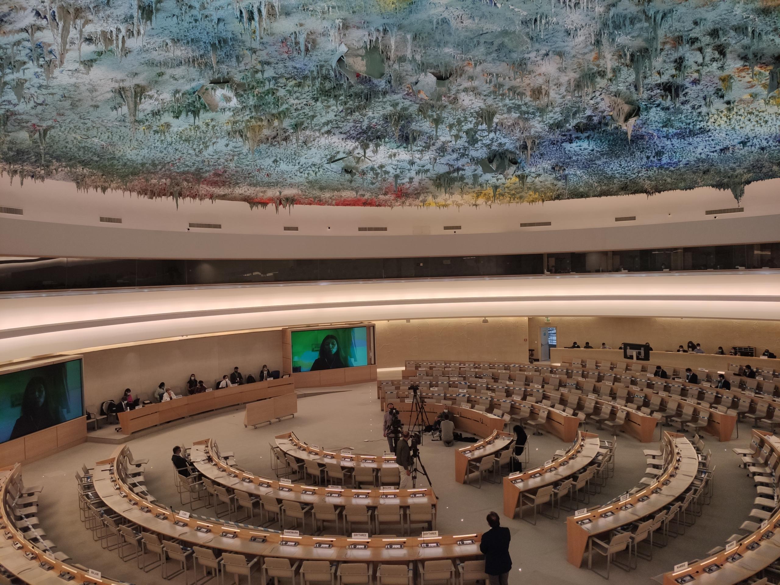 La reunió sobre l'Afganistan del Consell de Drets Humans de l'Organització de les Nacions Unides (ONU), a Ginebra / Marc Solanes