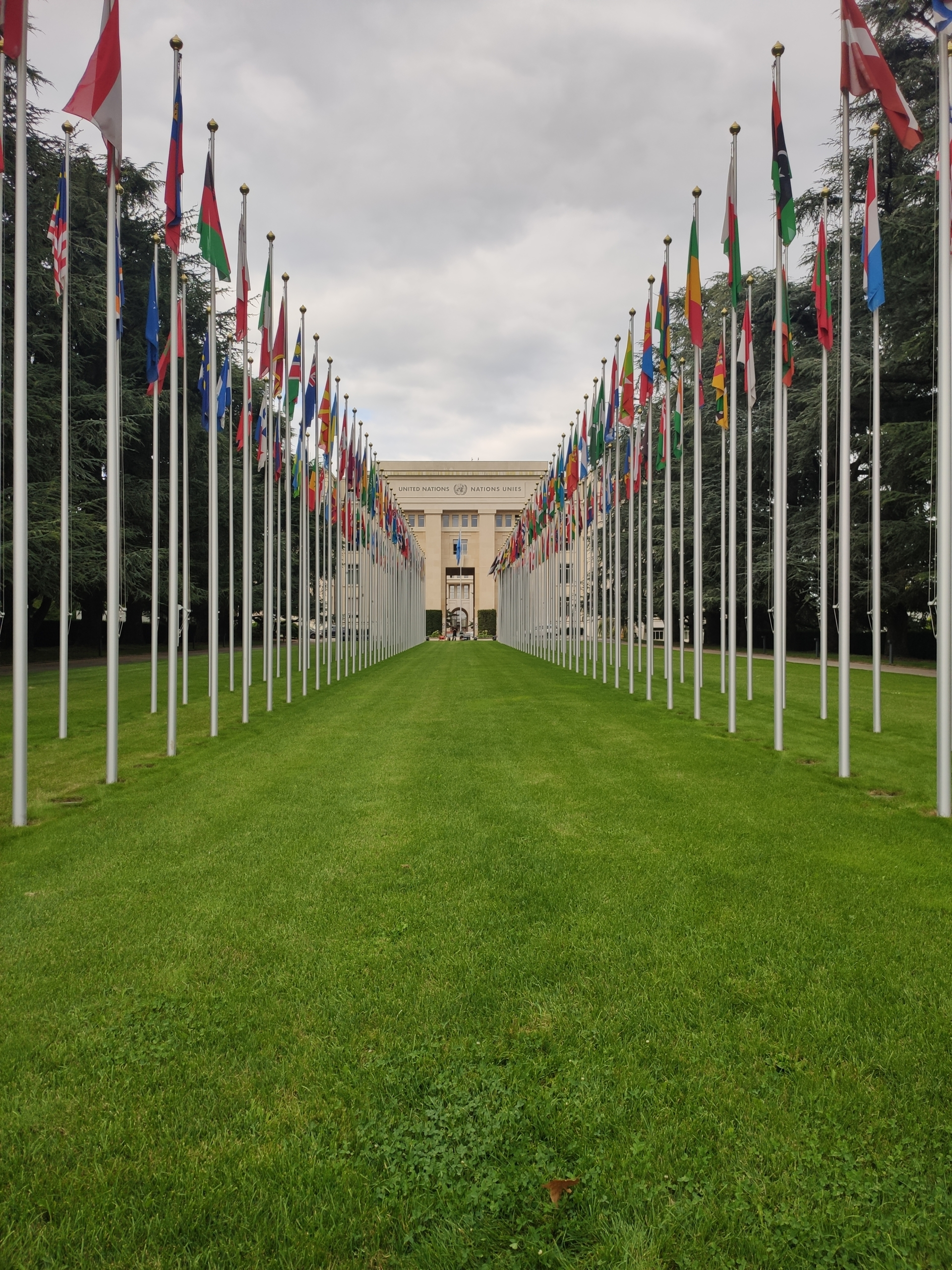 La seu de l'Organització de les Nacions Unides (ONU) a Ginebra / Marc Solanes