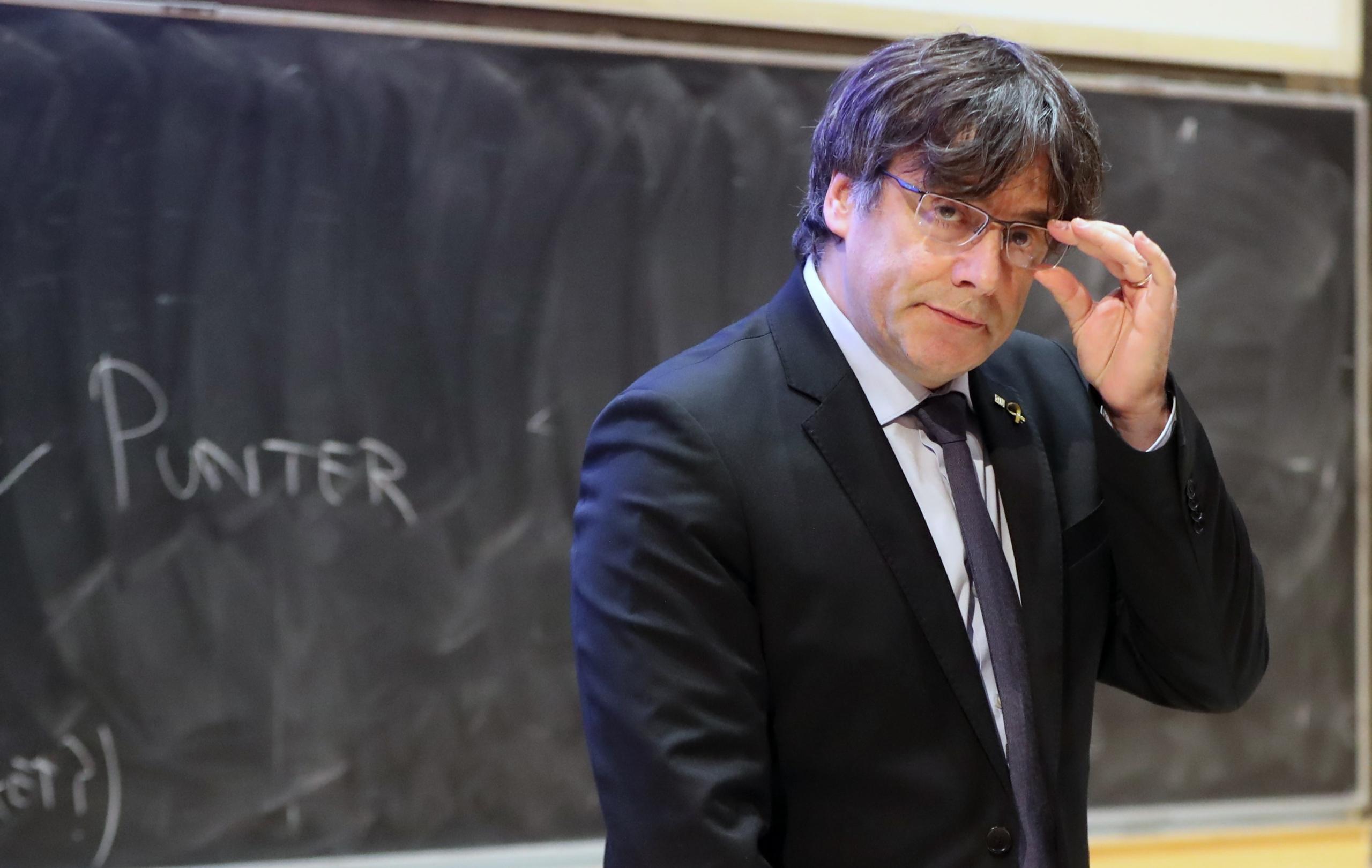 Puigdemont, en una imatge d'arxiu/ElMon