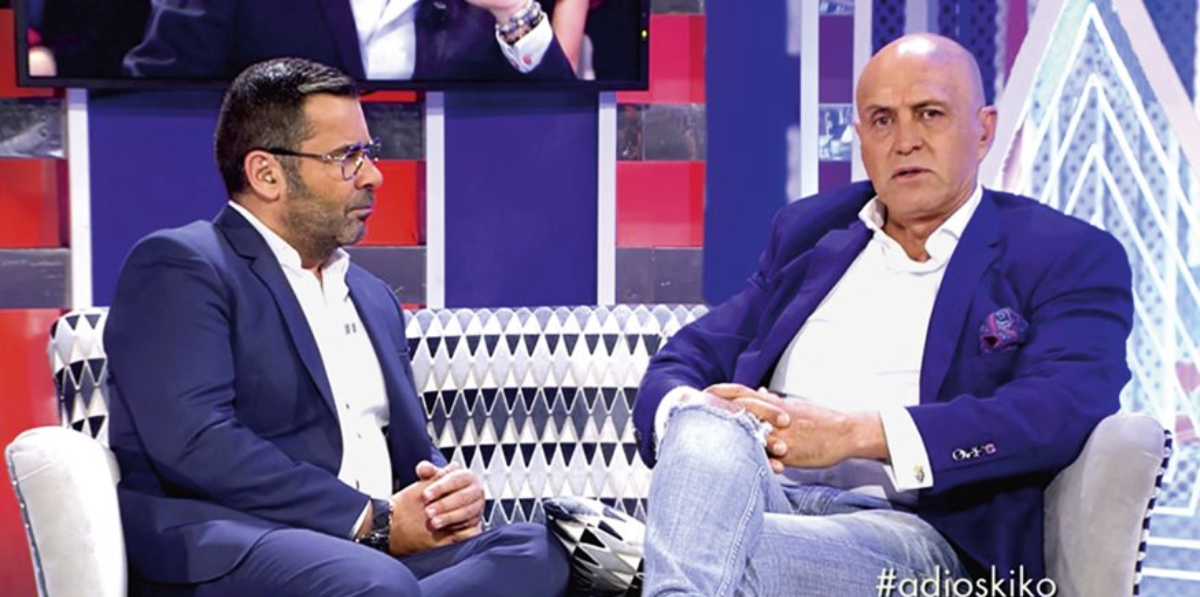 Jorge Javier Vázquez i Kiko Matamoros a 'Sálvame' - Telecinco