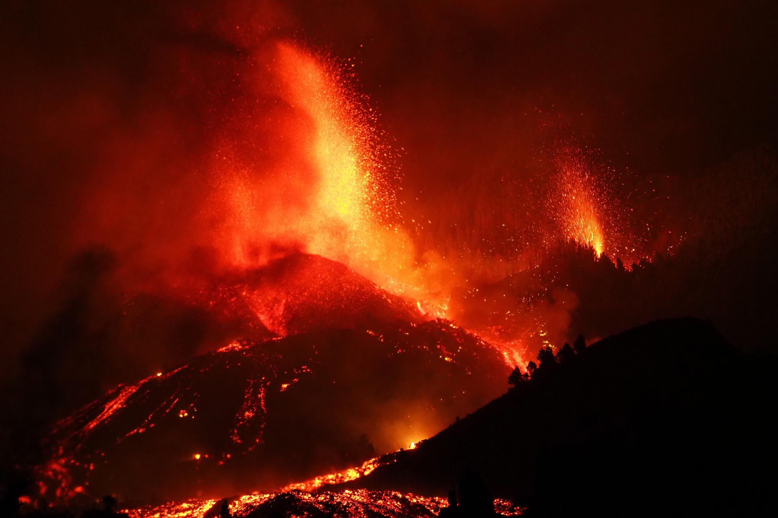 Erupció del volcà de La Palma | Europa Press