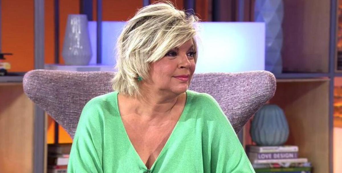 Terelu Campos, descoberta en directe - Telecinco