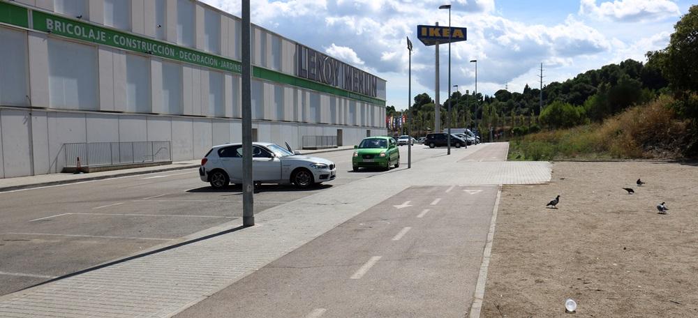Pla general del lloc on es va produir el tiroteig de Sabadell, el 20 de setembre de 2021. (Horitzontal)
