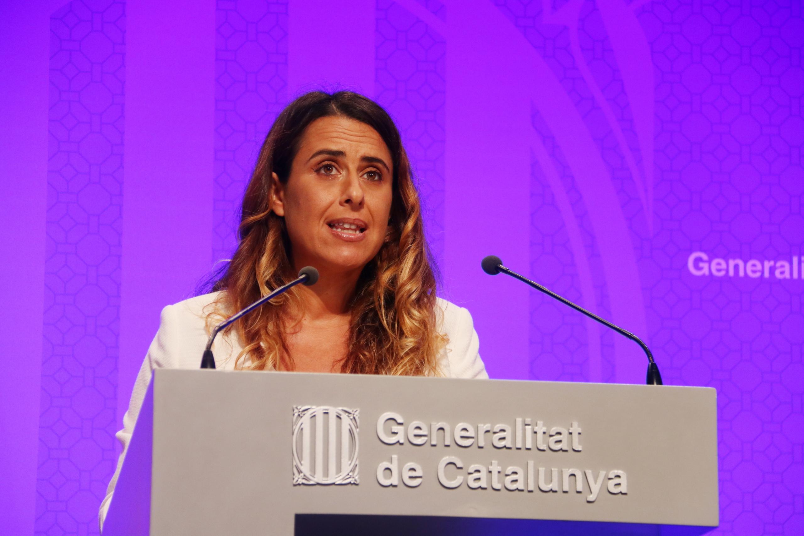 La portaveu del Govern, Patrícia Plaja   ACN