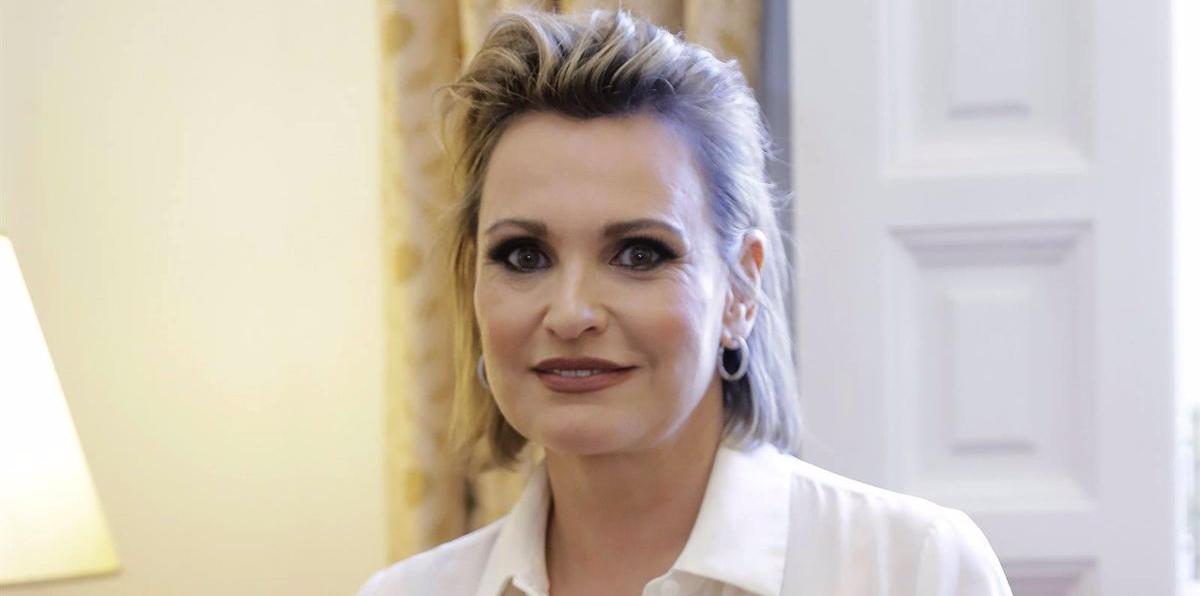 Ainhoa Arteta, en una foto d'arxiu durant una entrevista - Europa Press