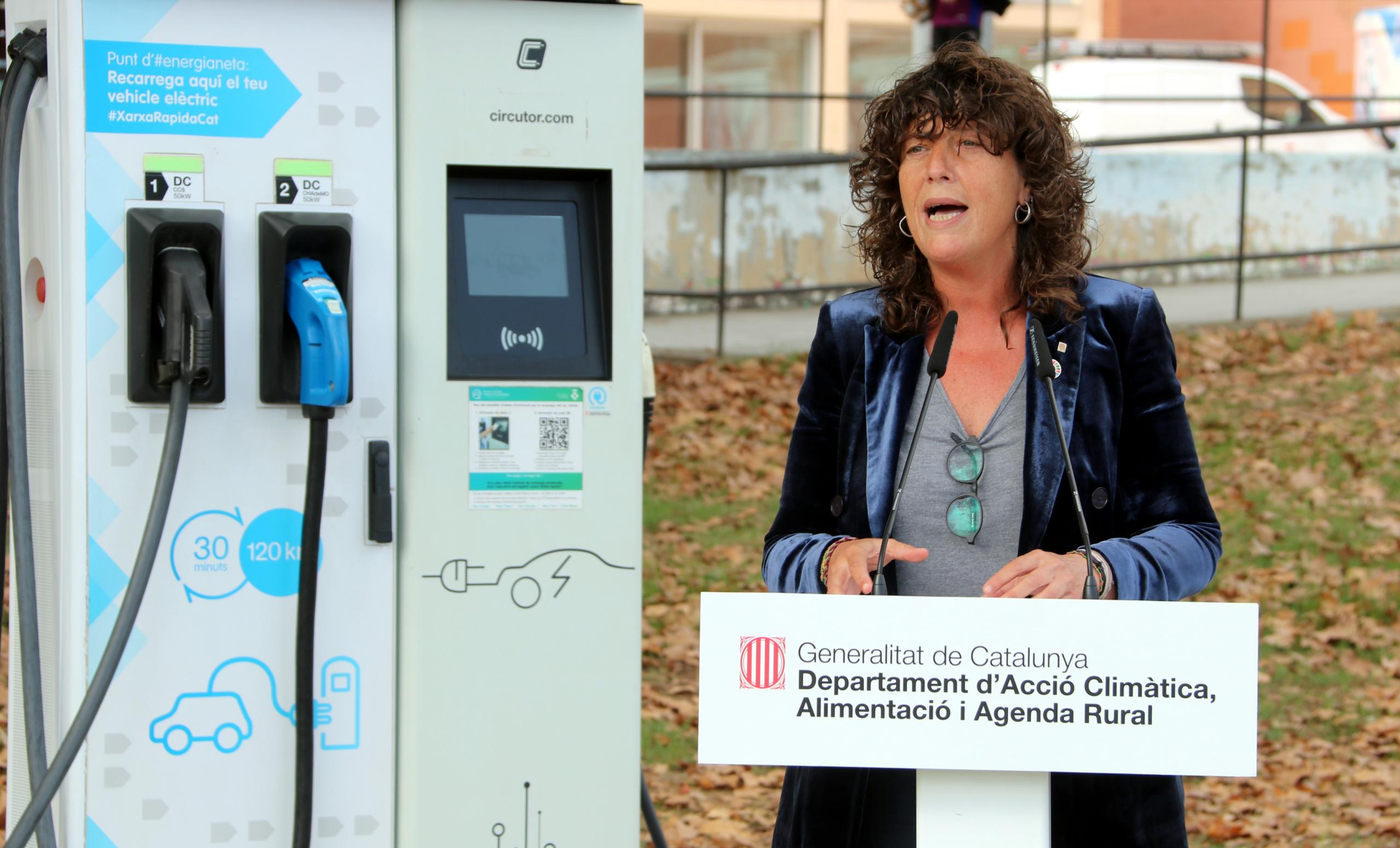 La consellera Teresa Jordà | ACN